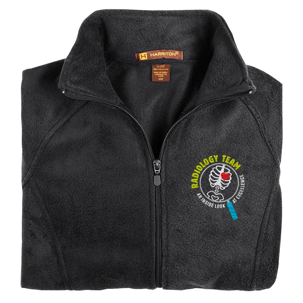 Radiology Team: An Inside Look At Excellence Harriton® Women's Full-Zip Fleece Jacket - Personalization Available