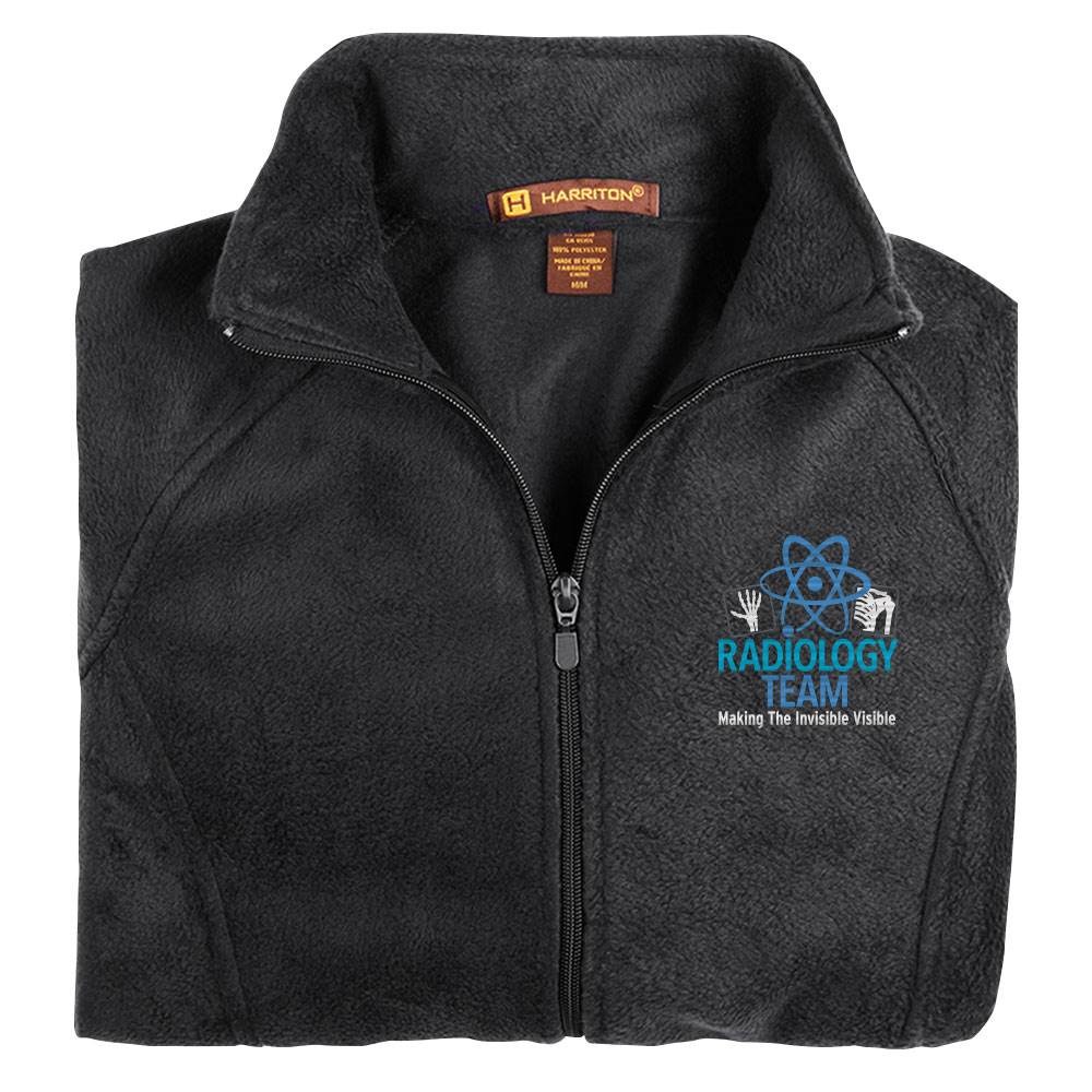 Radiology Team: Making The Invisible Visible Harriton® Women's Full-Zip Fleece Jacket - Personalization Optional