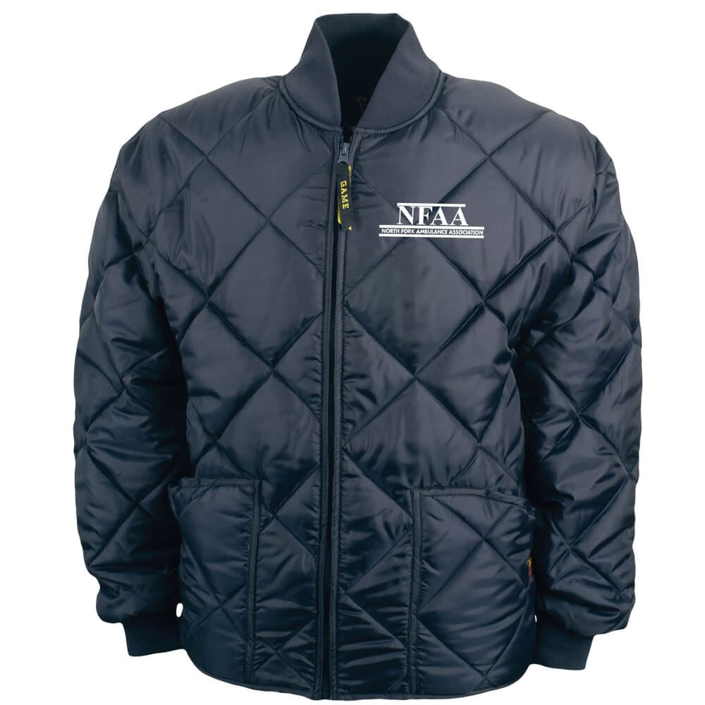 adc95a1d523a Game® The Bravest Diamond Quilted Jacket - Personalization Available ...