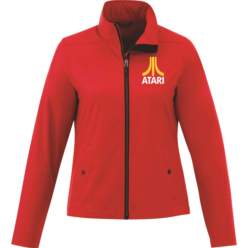 Elevate® Women's Karmine Soft Shell Jacket - Embroidery Personalization Available