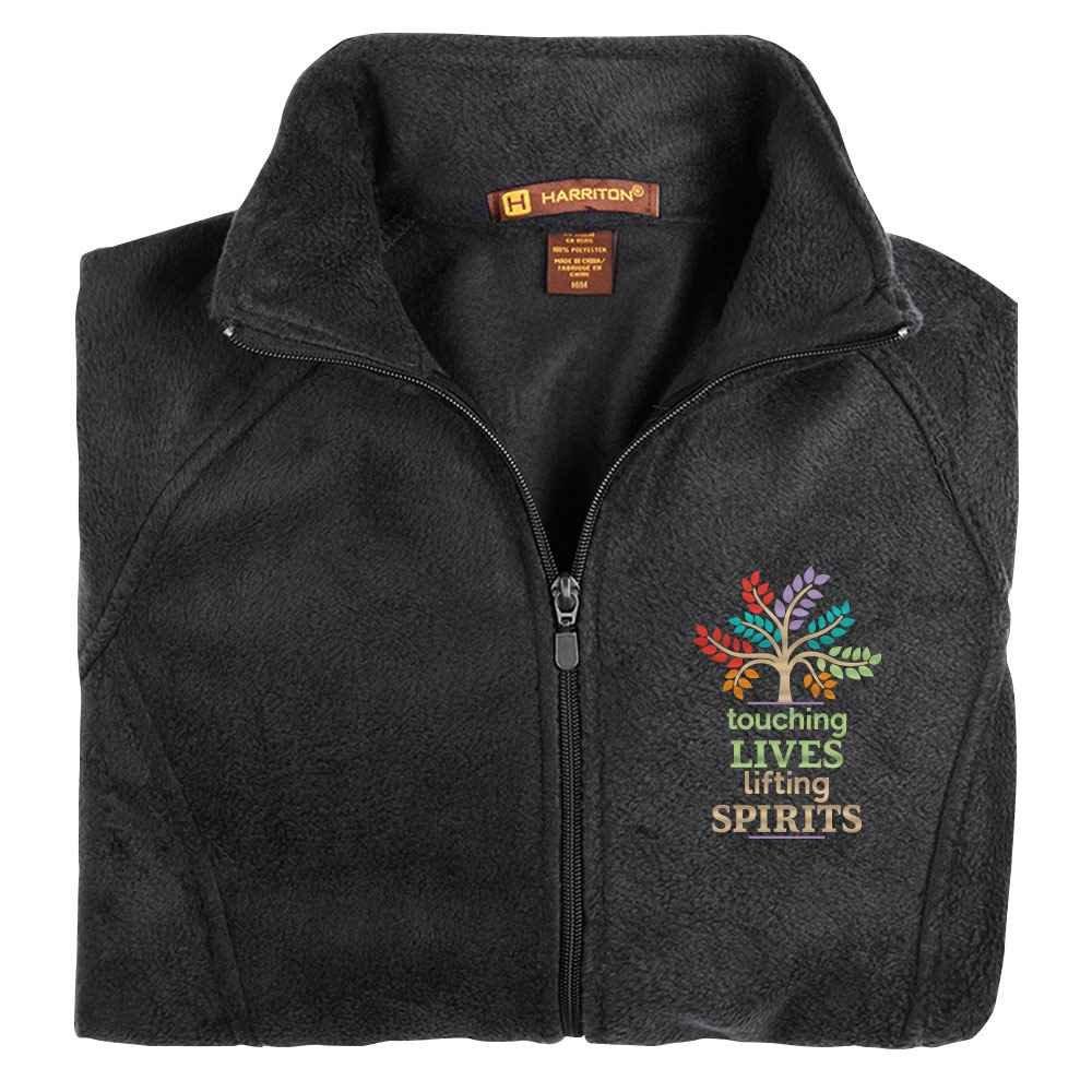 Touching Lives, Lifting Spirits Harriton® Women's Fleece Full-Zip Jacket
