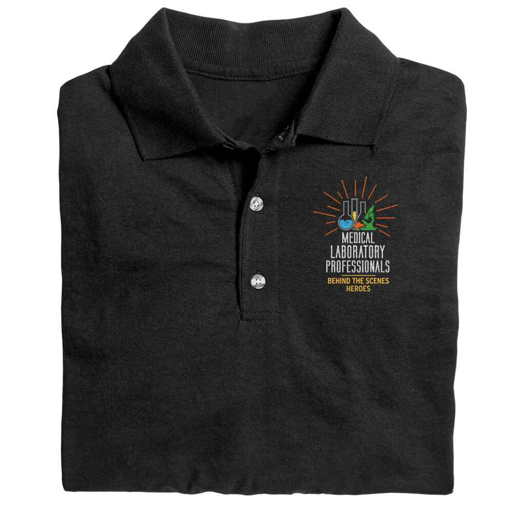 Medical Laboratory Professionals: Behind The Scenes Heroes Gildan® DryBlend Jersey Polo - Personalization Optional