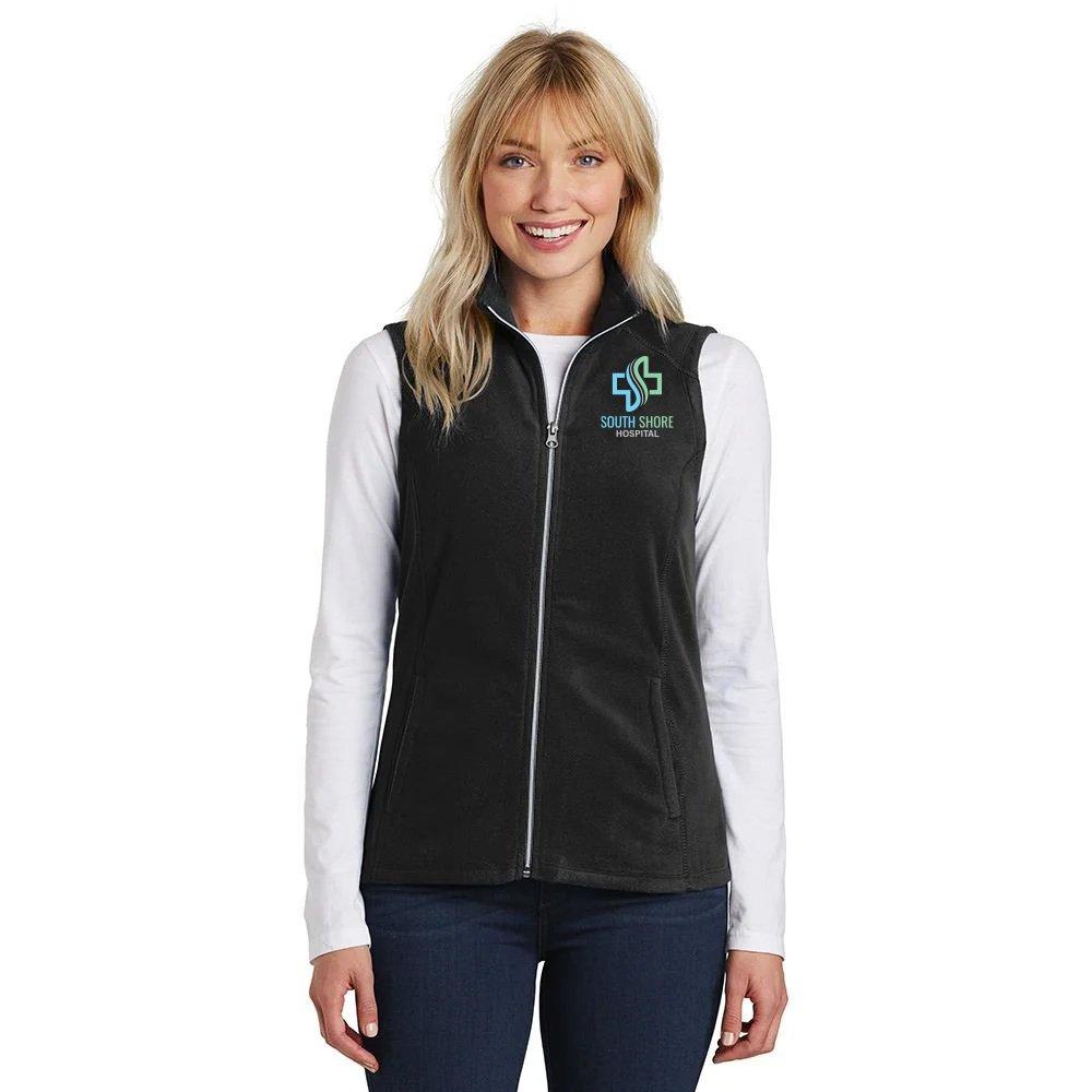Port Authority® Ladies Full-Zip Microfleece Vest - Personalization Available