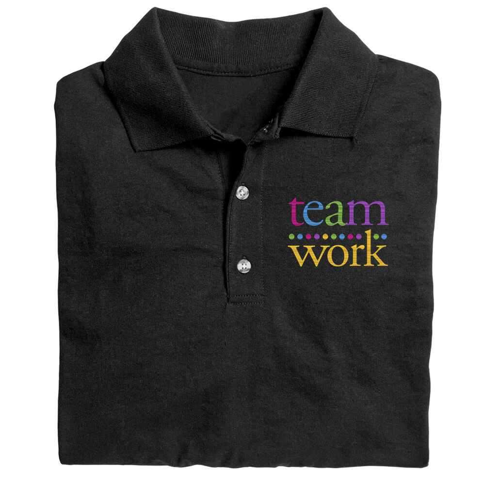 Teamwork Gildan® DryBlend Jersey Polo - Embroidery Personalization Available