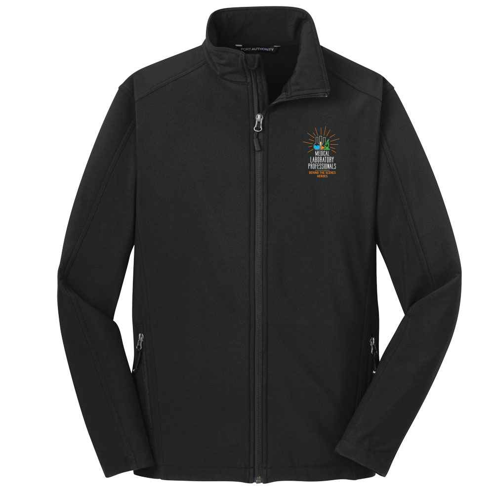 Medical Laboratory Professionals: Behind The Scenes Heroes Port Authority® Core Soft Shell Jacket - Personalization Available