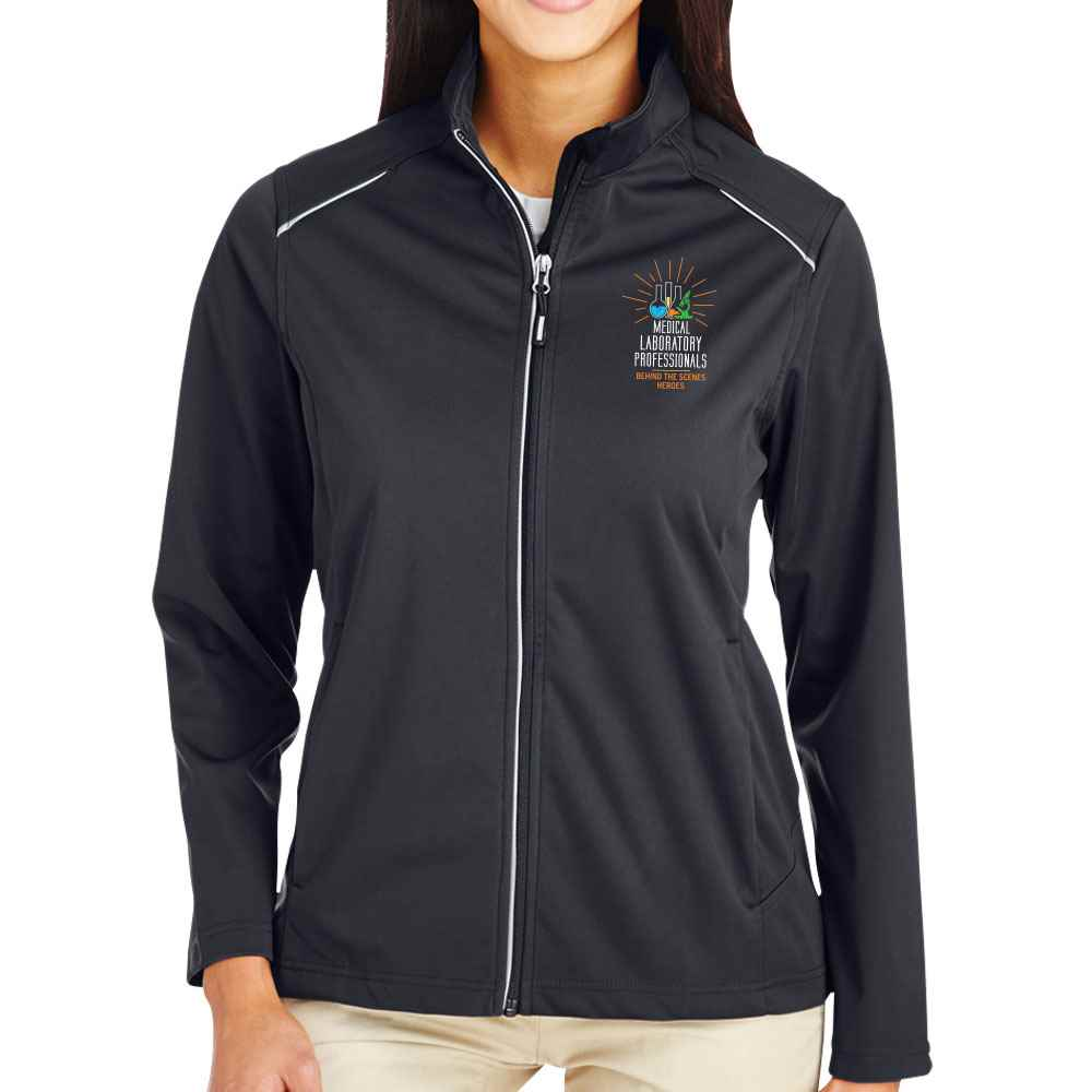 Medical Laboratory Professionals: Behind The Scenes Heroes Core 365® Full-Zip Three-Layer Knit Jacket - Personalization Available