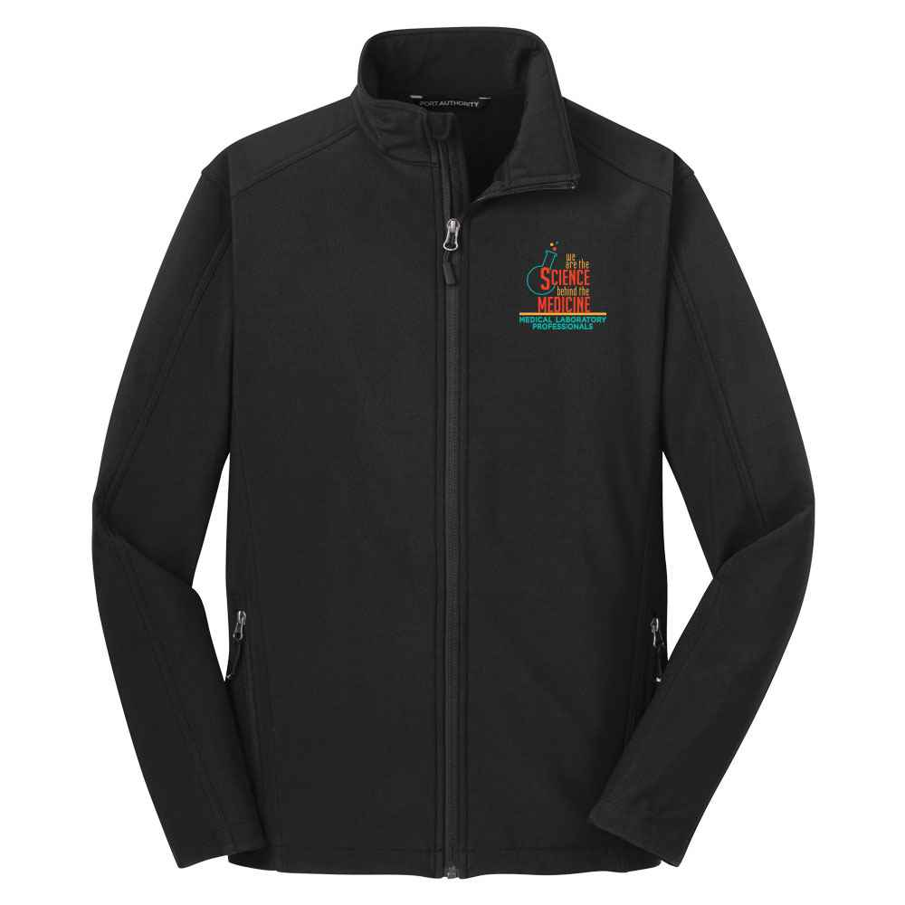 We Are The Science Behind The Medicine Port Authority® Core Soft Shell Jacket - Personalization Available