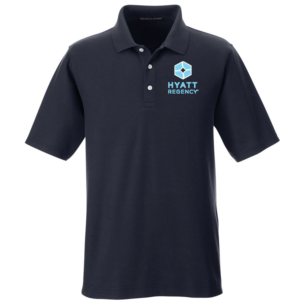 Devon & Jones® Men's Drytec20™ Performance Polo - Embroidery Personalization Available