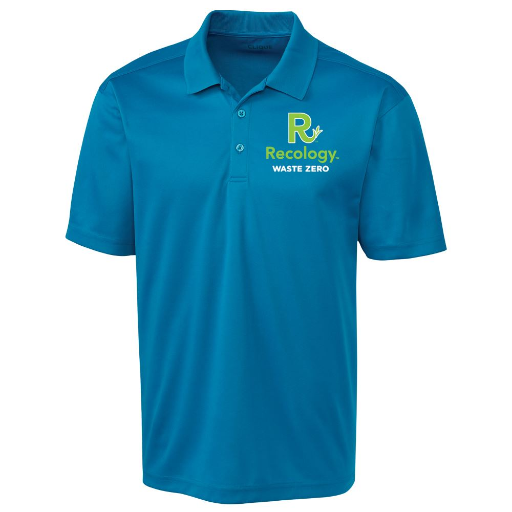 Clique® by Cutter & Buck® Men's Spin Dye Pique Polo - Embroidery Personalization Available