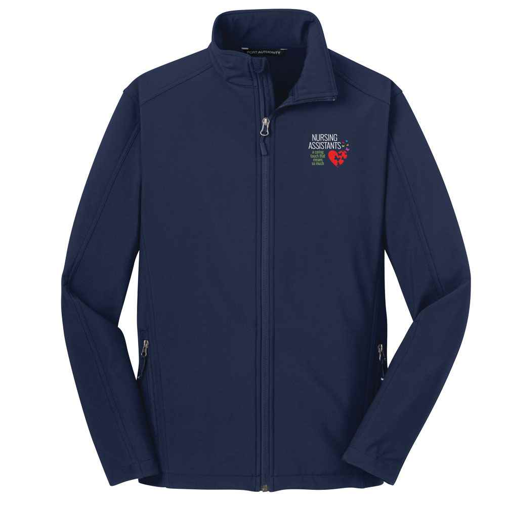 Nursing Assistants: A Caring Touch That Means So Much Port Authority® Core Soft Shell Jacket - Personalization Available