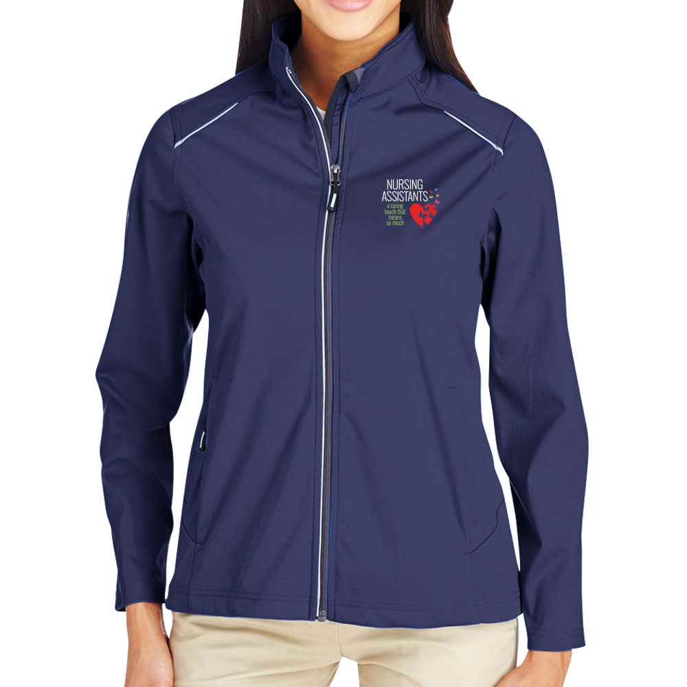 Nursing Assistants: A Caring Touch That Means So Much Core 365® Full-Zip Three-Layer Knit Jacket - Personalization Optional