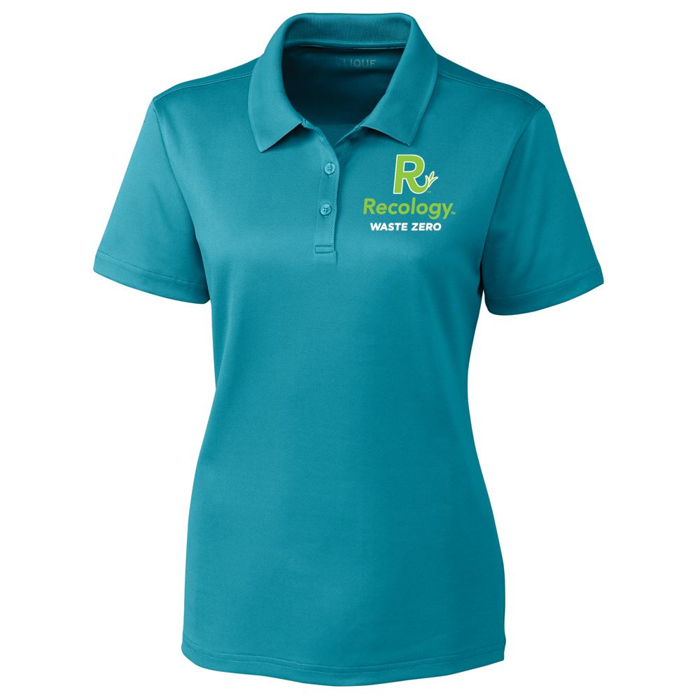 Clique® by Cutter & Buck® Women's Spin Dye Pique Polo - Embroidery Personalization Available