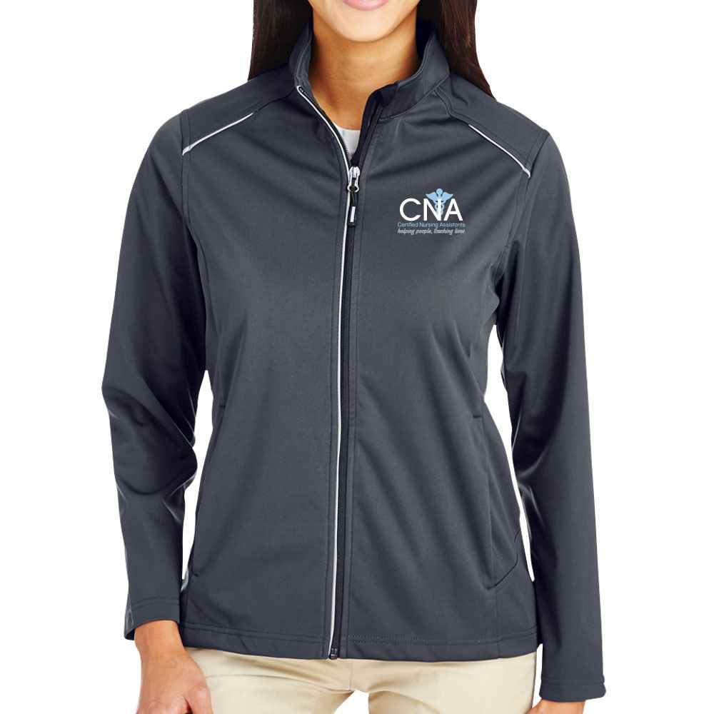 Certified Nursing Assistants: Helping People, Touching Lives Core 365® Full-Zip Three-Layer Knit Jacket - Personalization Optional