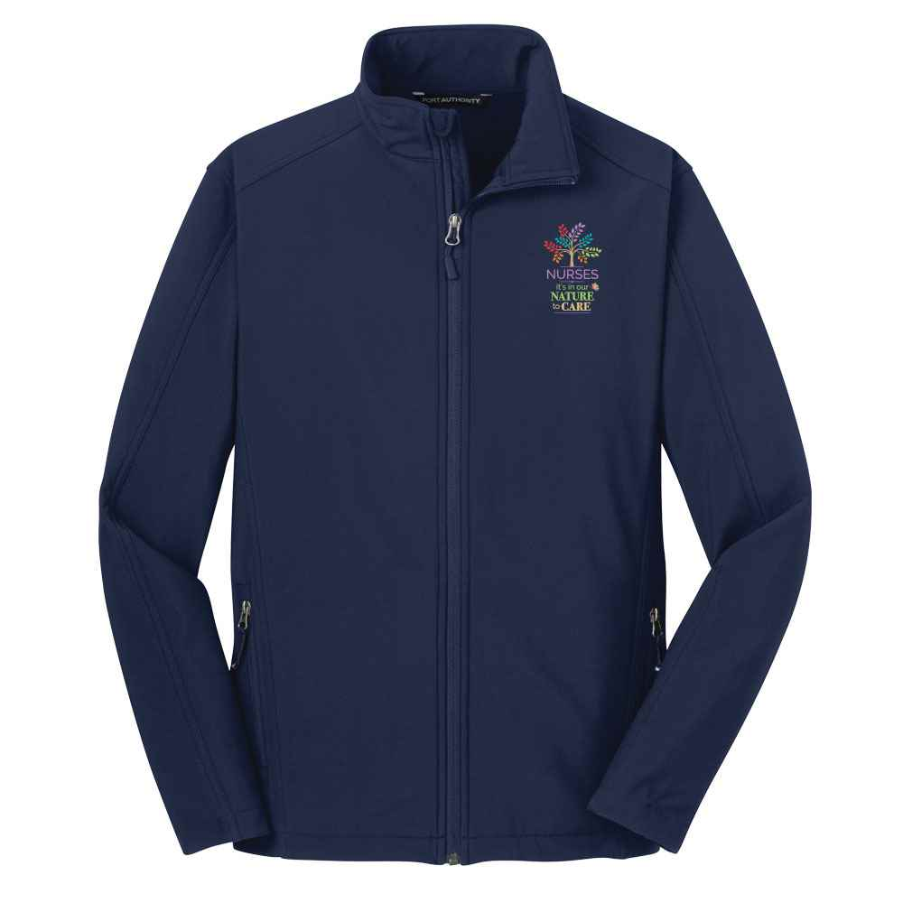 Nurse: It's In Our Nature To Care Port Authority® Core Soft Shell Jacket - Personalization Available