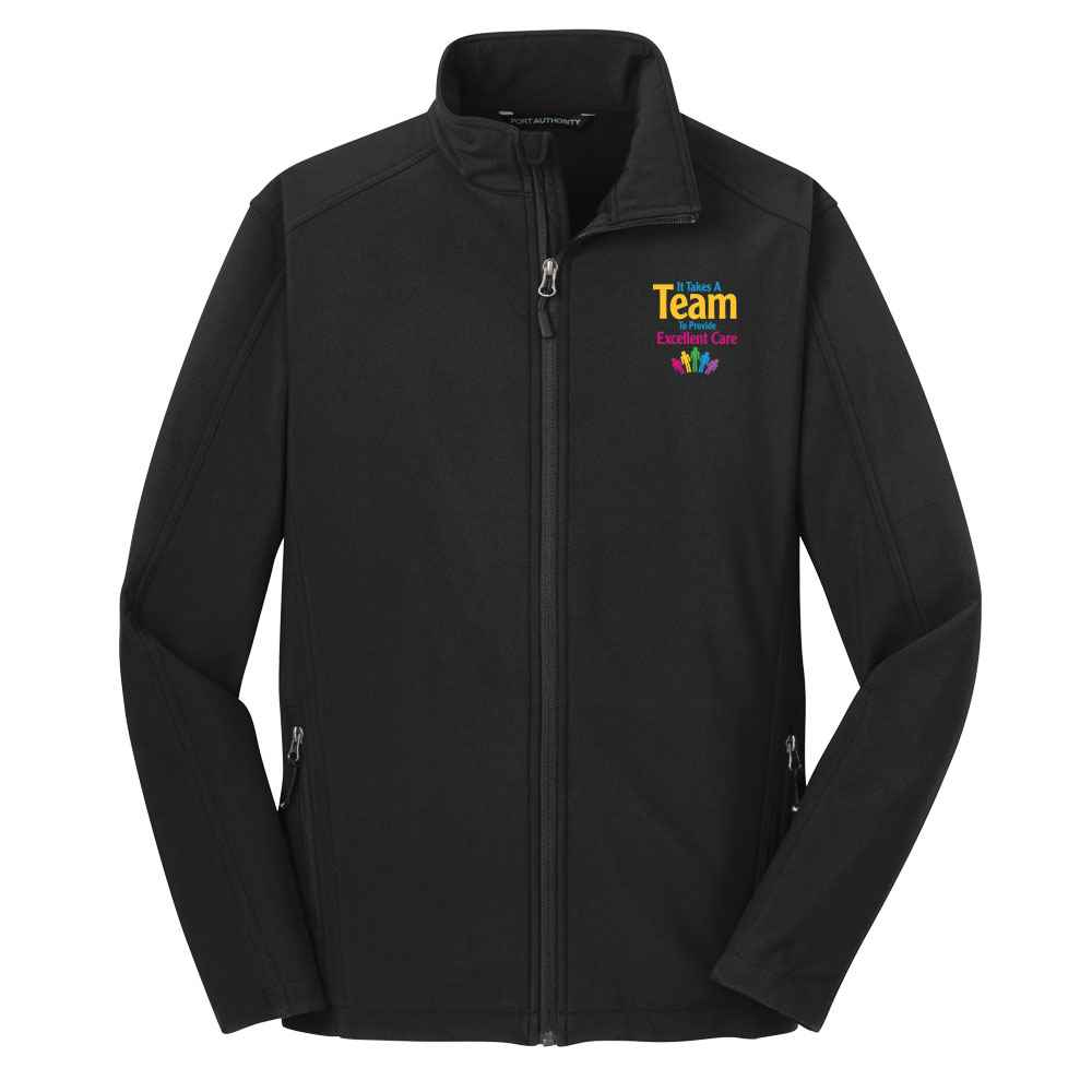It Takes A Team To Provide Excellent Care Port Authority® Core Soft Shell Jacket - Personalization Available