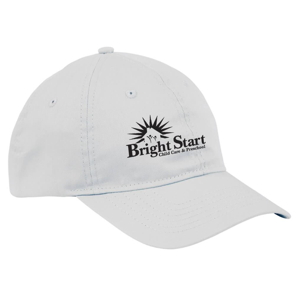 Big Accessories® 6-Panel Twill Unstructured Cap - Personalization Available