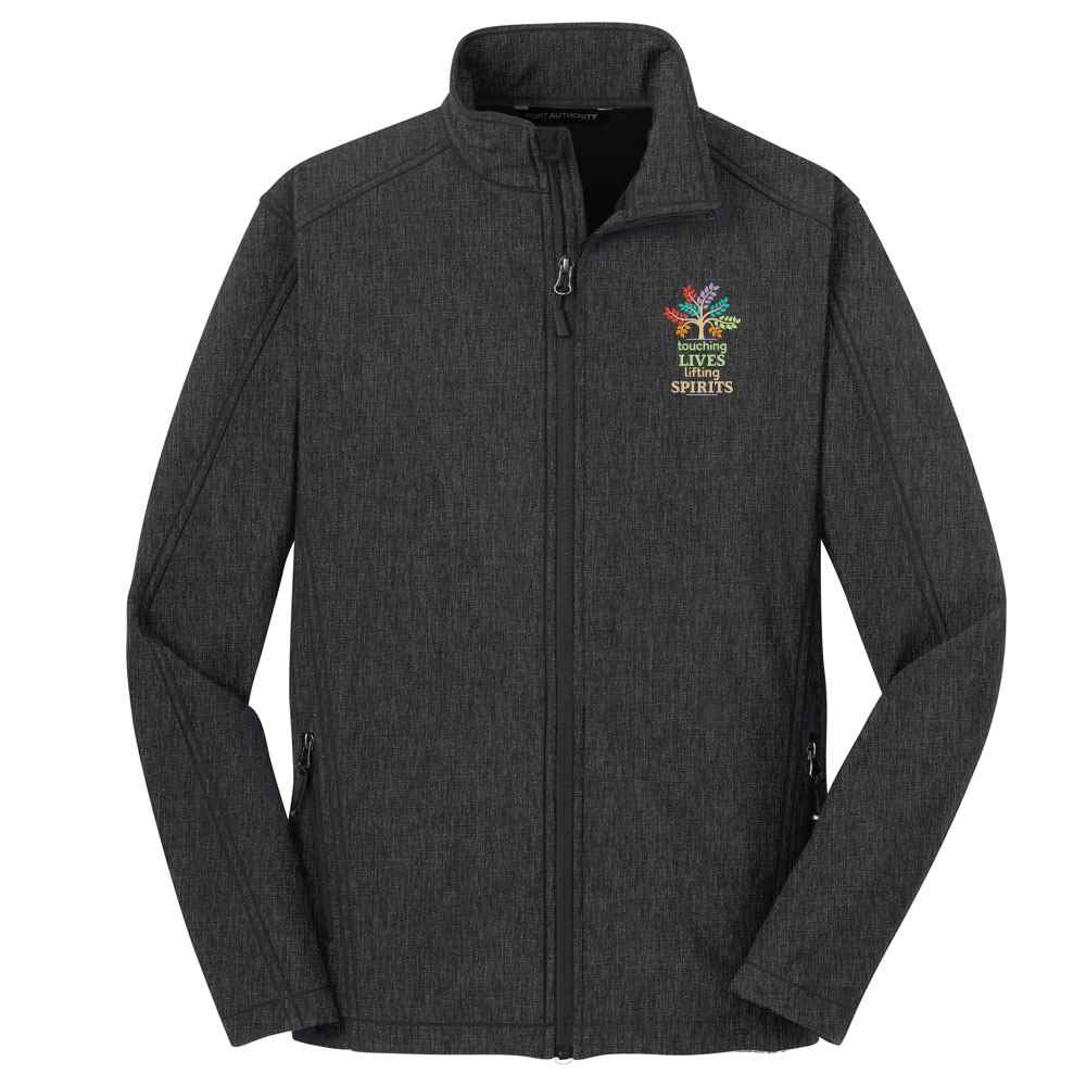 Touching Lives, Lifting Spirits Port Authority® Core Soft Shell Jacket - Personalization Available
