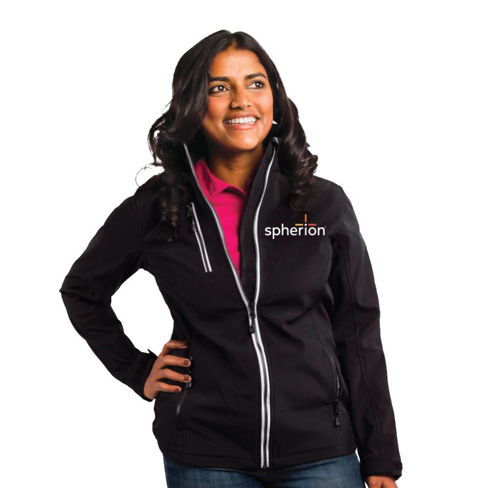 Clique® by Cutter & Buck® Women's Telemark Soft Shell Jacket - Personalization Available
