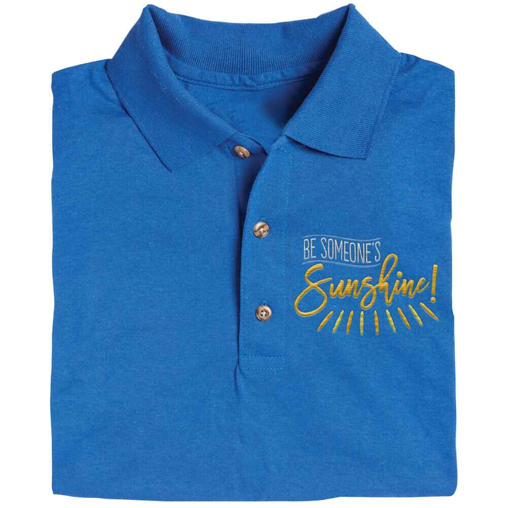 Be Someone's Sunshine Gildan® DryBlend Jersey Polo - Personalization Available