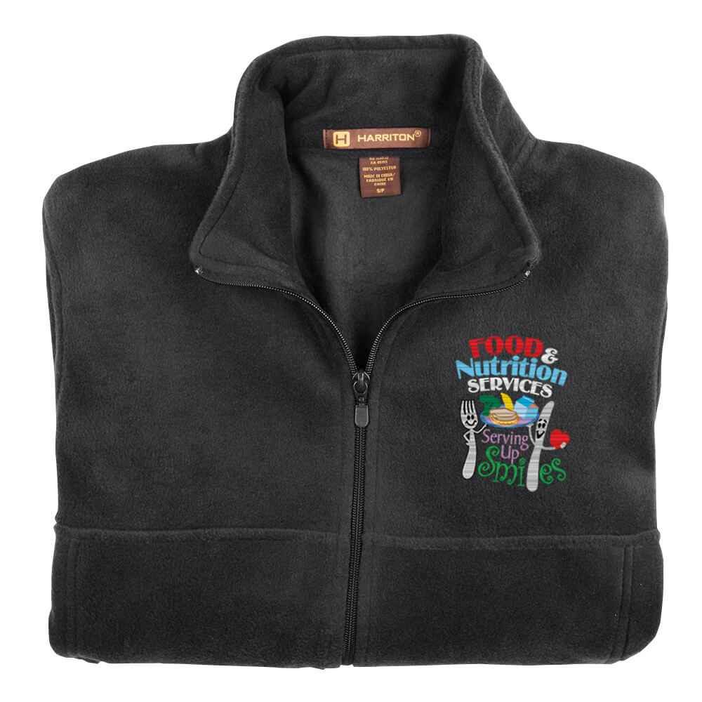 Food & Nutrition Services: Serving Up Smiles Harriton® Fleece Full-Zip Jacket