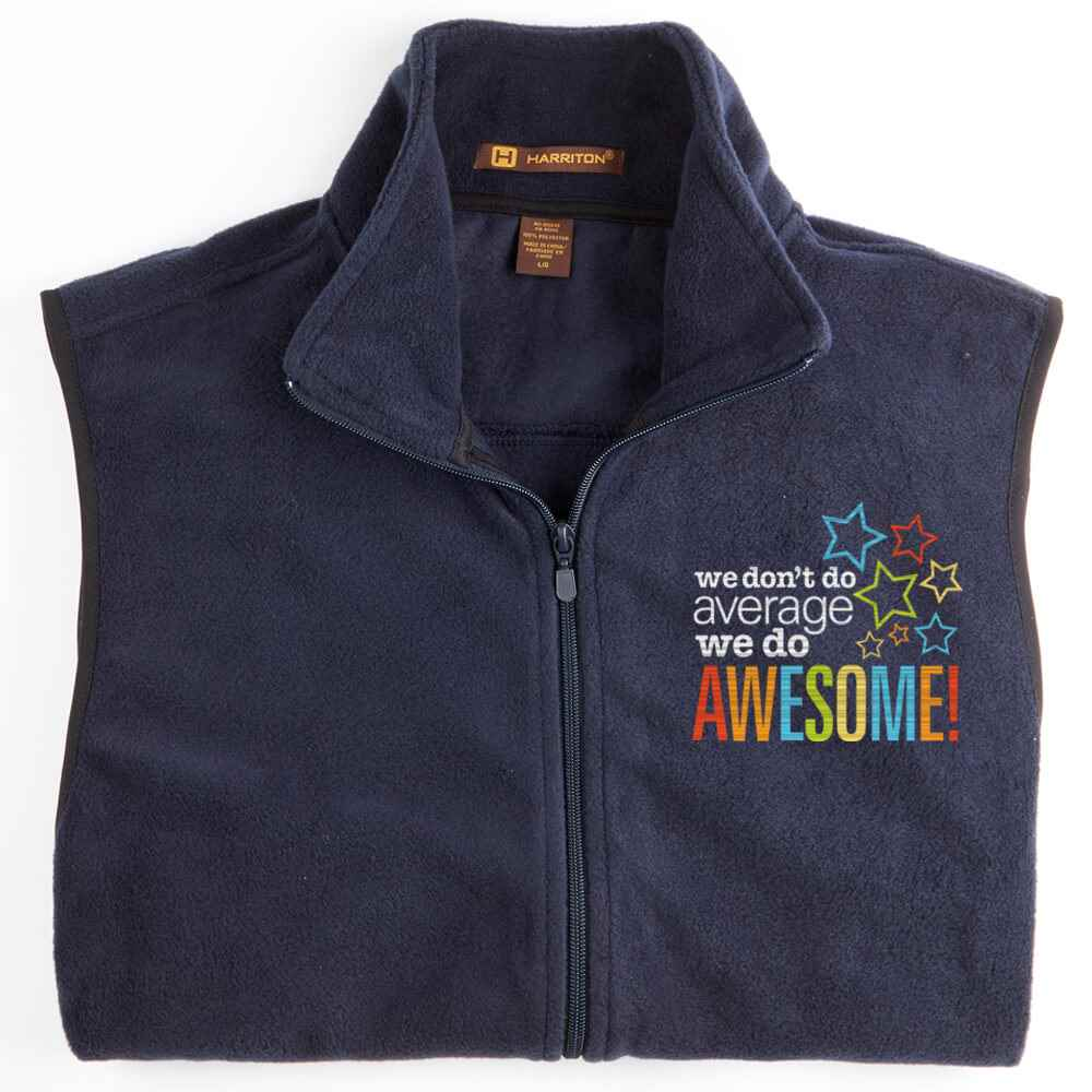 Health Information Professionals Harriton® Full-Zip Fleece Vest - Personalization Available