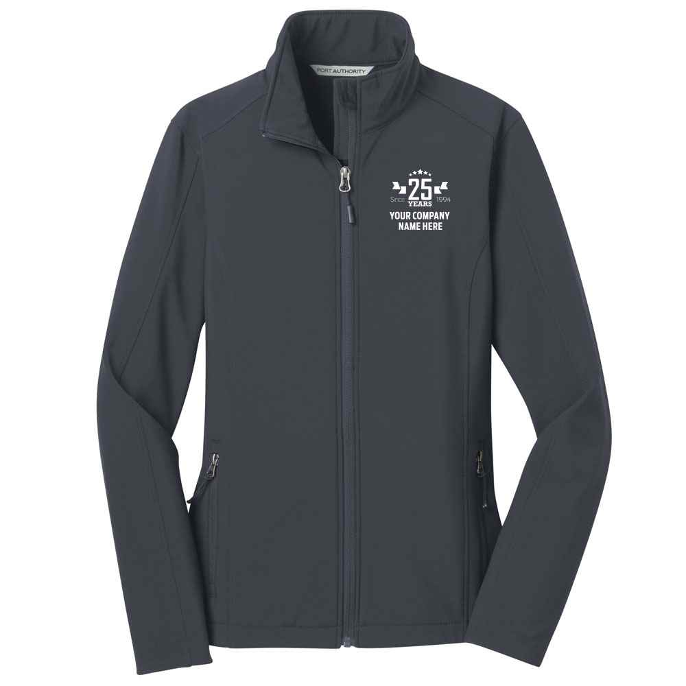 25th Anniversary Port Authority® Women's Core Soft Shell Jacket - Personalization Available