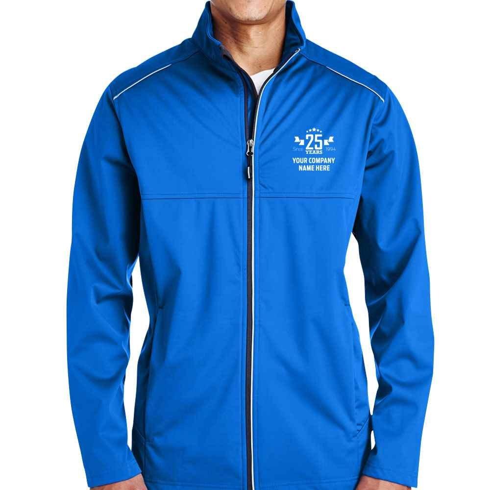 25th Anniversary Core 365® Men's Techno Lite Three-Layer Knit Tech-Shell Full-Zip Jacket - Personalization Available