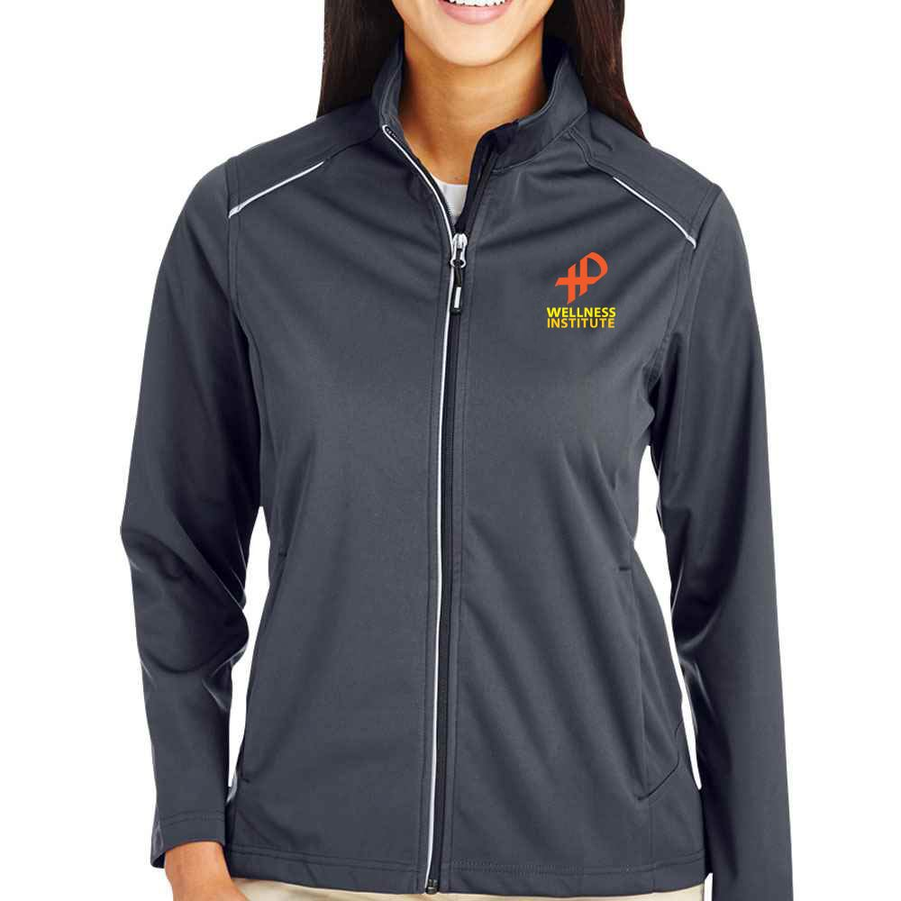 25th Anniversary Core 365® Women's Techno Lite Three-Layer Knit Tech-Shell Full-Zip Jacket - Personalization Available