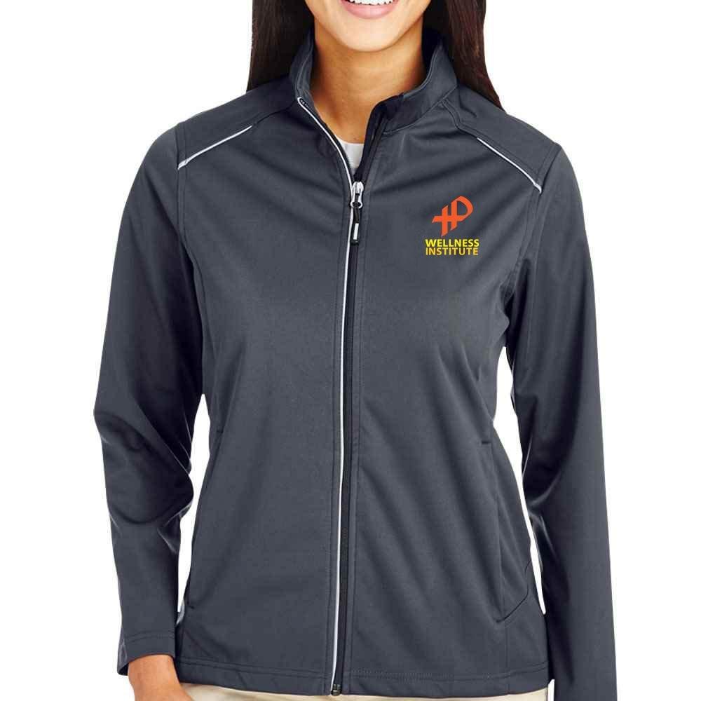 25th Anniversary Core 365® Women's Techno Lite Three-Layer Knit Tech-Shell Full-Zip Jacket - Personalization Available