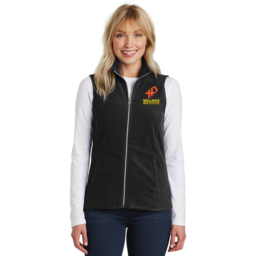 25th Anniversary Port Authority® Women's Full-Zip Microfleece Vest - Personalization Available