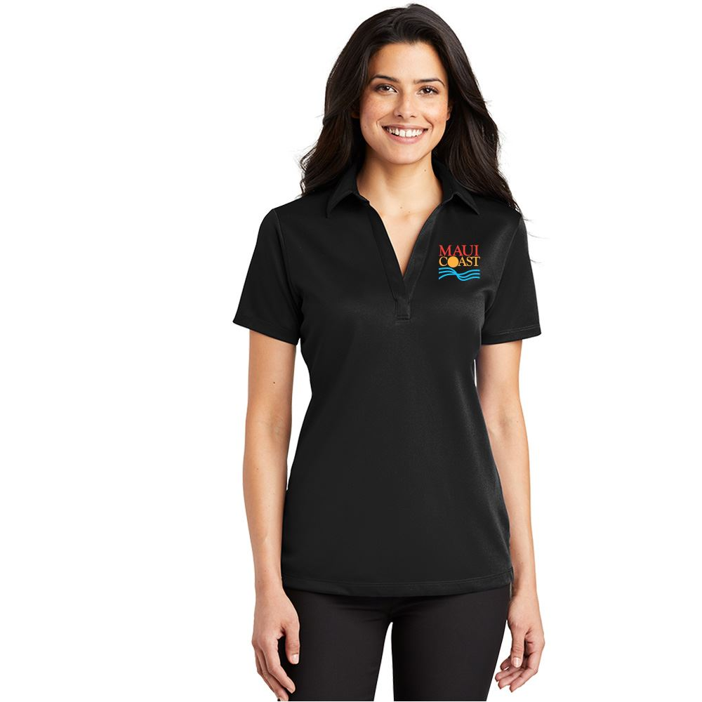 Port Authority® Women's Silk Touch™ Performance Polo - Personalization Available