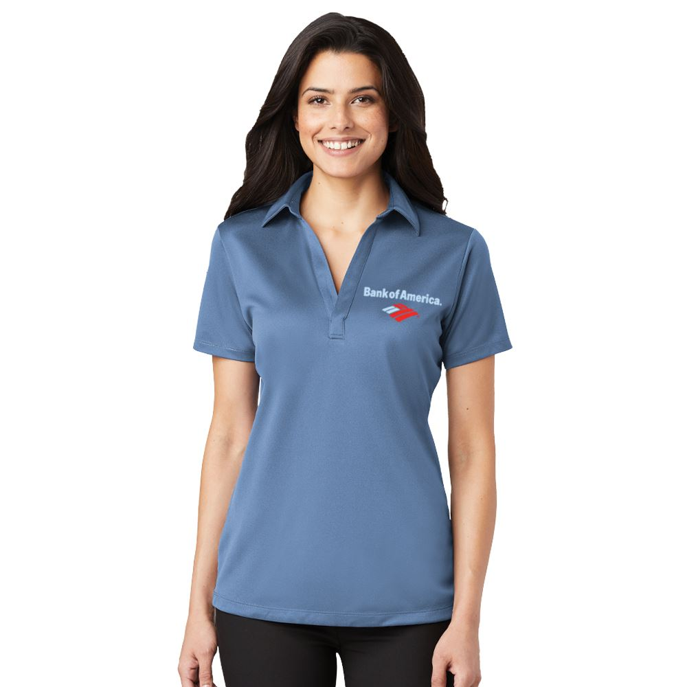 Port Authority® Women's Silk Touch™ Performance Polo - Embroidery Personalization Available