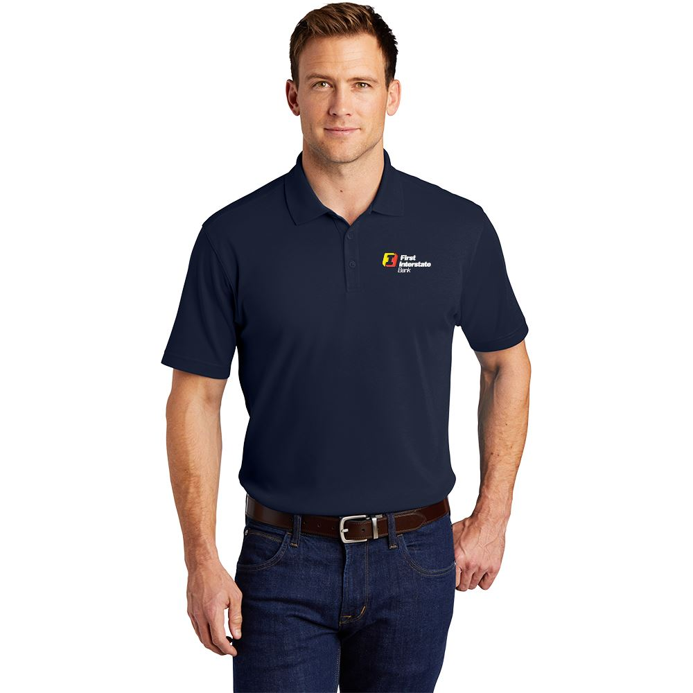 Port Authority® Men's Silk Touch™ Interlock Performance Polo - Personalization Available