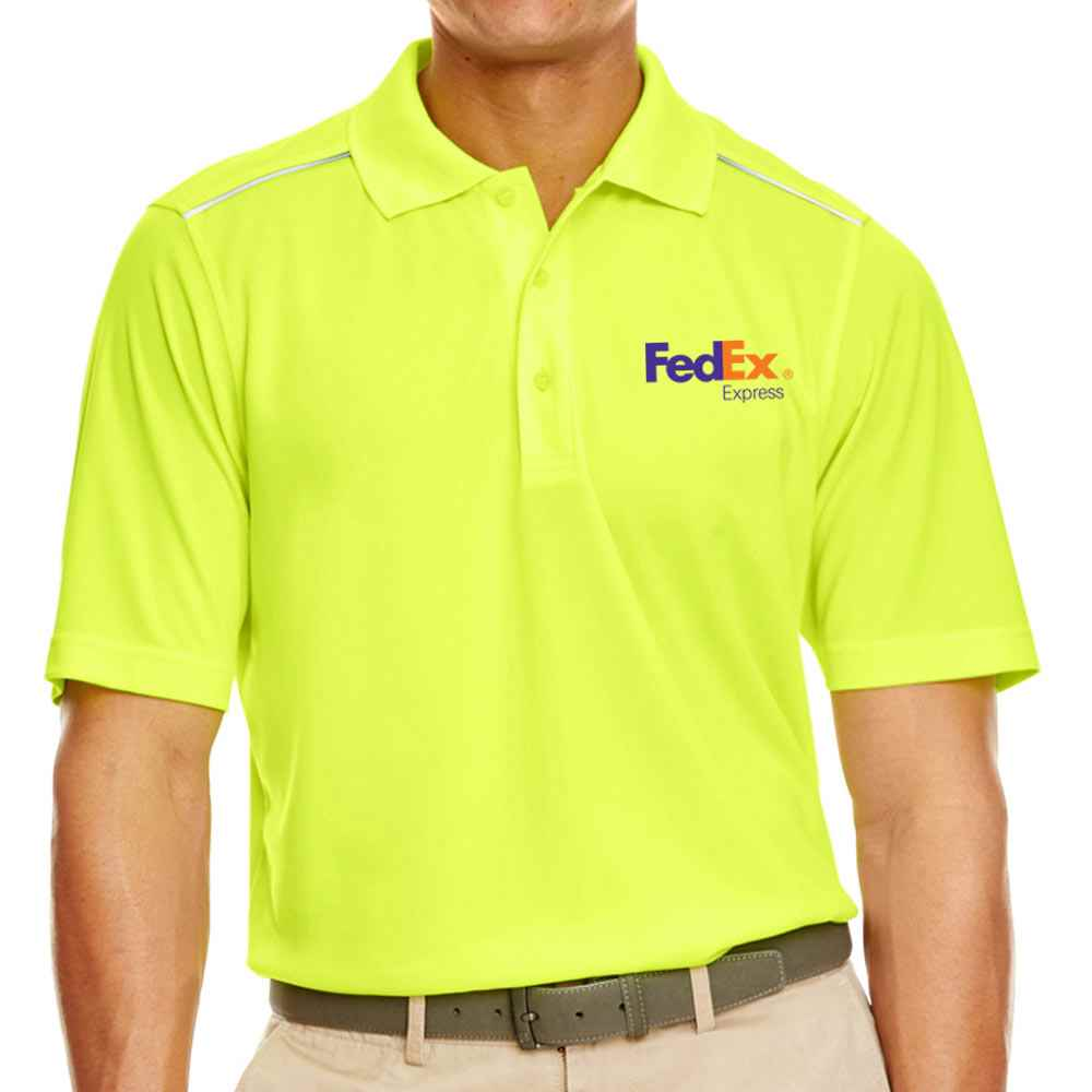 Ash City Core 365® Men's Radiant Performance Pique Polo With Reflective Piping - Personalization Available
