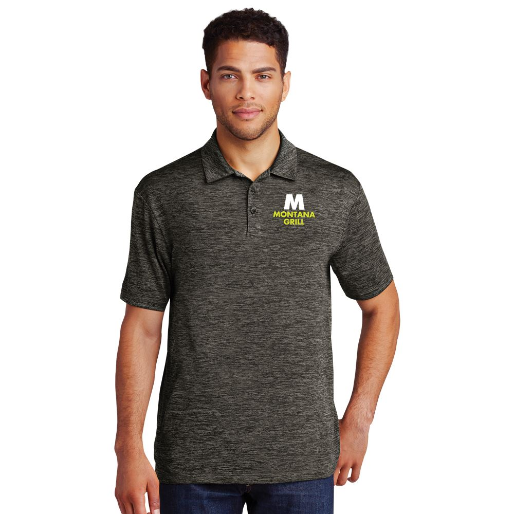 Sport-Tek® Men's Electric Heather Polo - Embroidery Personalization Available