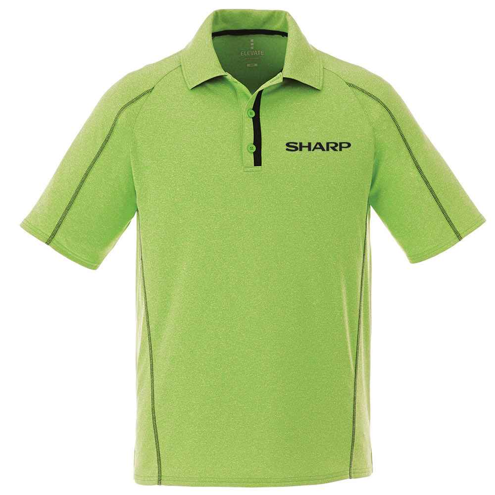 Elevate® Men's Macta Short Sleeve Polo Shirt - Embroidery Personalization Available