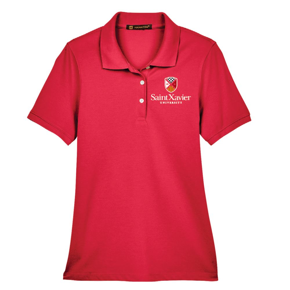 Harriton® Women's Easy Blend Polo Shirt - Personalization Available