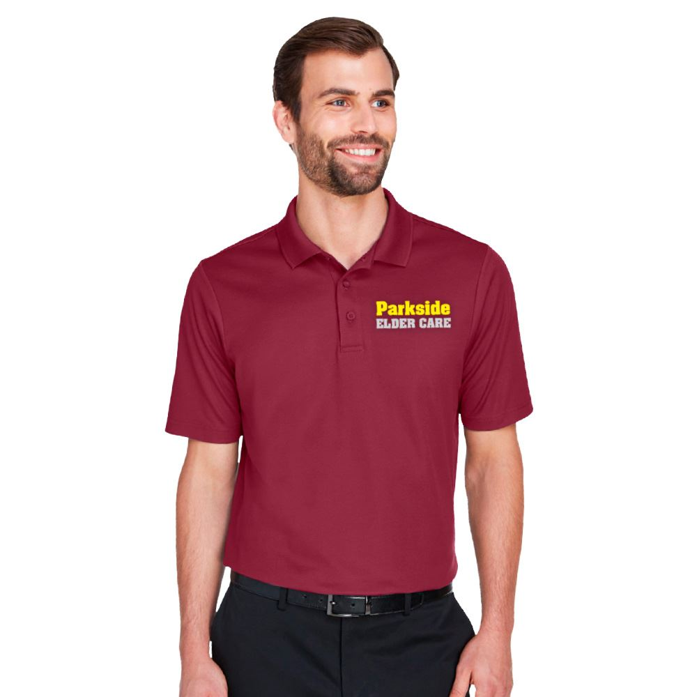 Devon & Jones® Men's Crownlux Performance™ Plaited Polo - Personalization Available