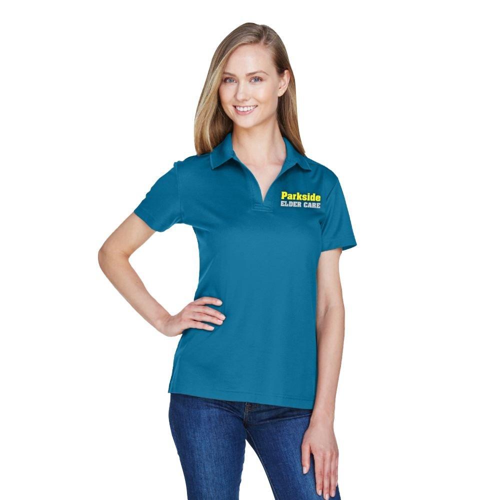 Devon & Jones® Women's Crownlux Performance™ Plaited Polo - Personalization Available