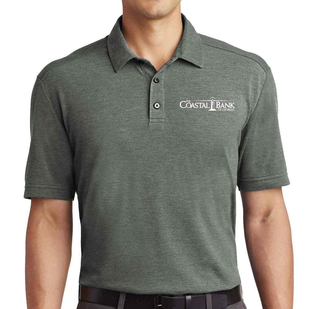 Port Authority® Men's Coastal Cotton Blend Polo - Personalization Available