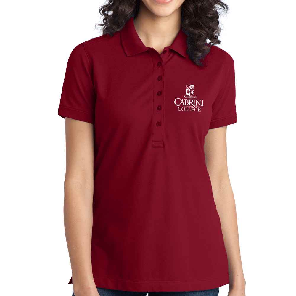 Port Authority® Women's Stretch Pique Polo Shirt - Personalization Available