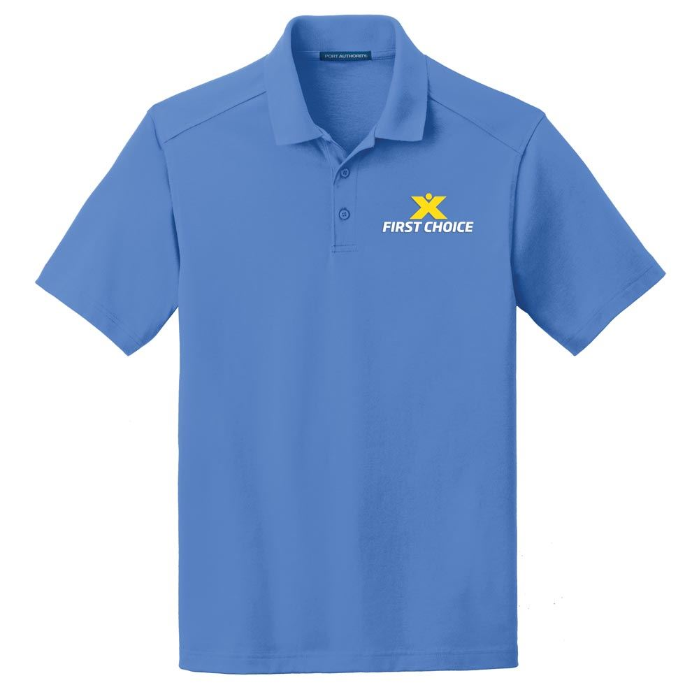 Port Authority® Men's SuperPro™ Knit Polo - Embroidery Personalization Available