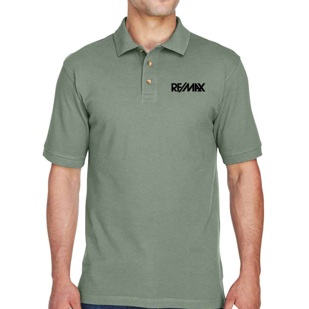 Harriton® Men's Ringspun Cotton Pique Polo - Personalization Available