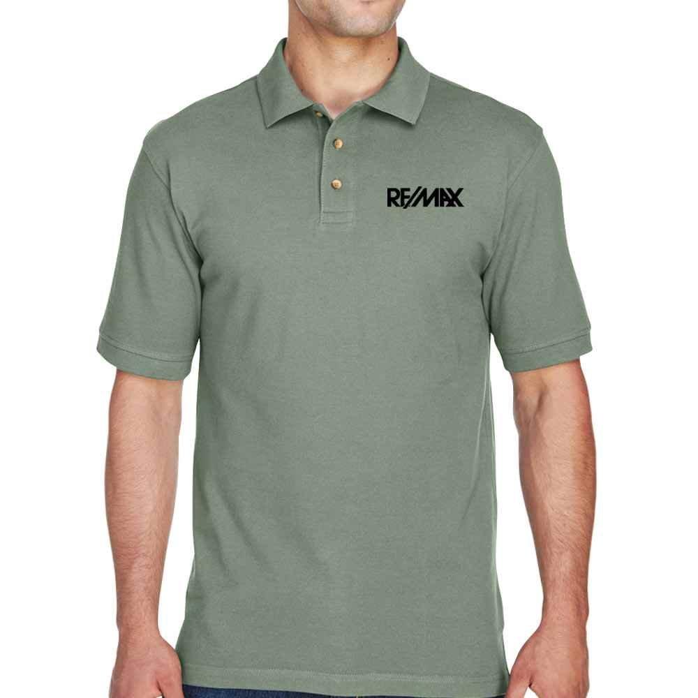Harriton® Men's Ringspun Cotton Pique Polo - Personalization Available