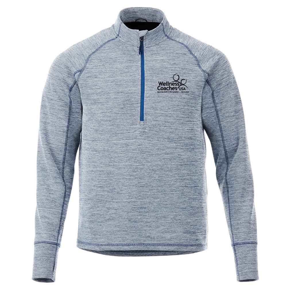 Elevate® Men's Crane Knit Half-Zip - Embroidery Personalization Available