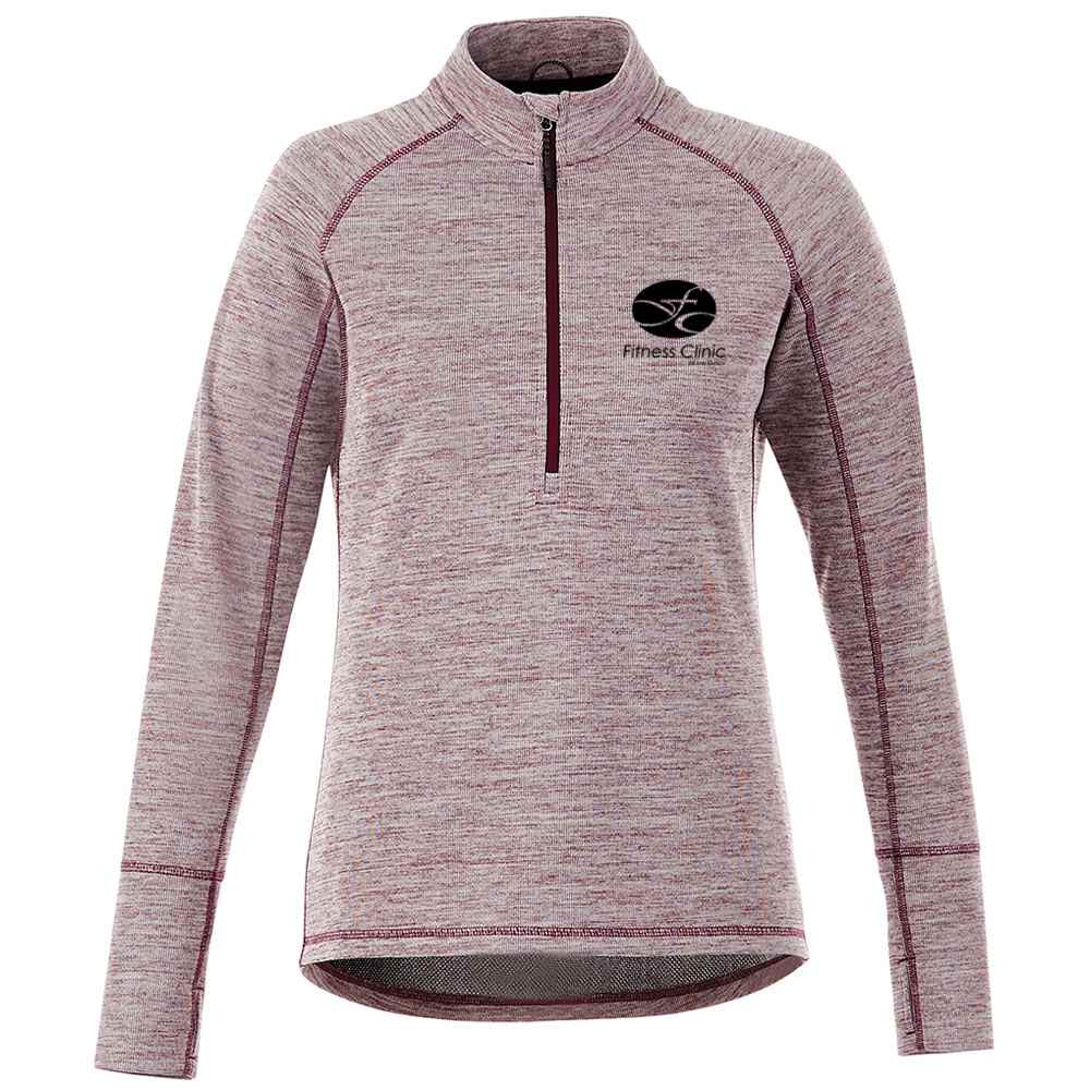 Elevate® Women's Crane Knit Half-Zip - Embroidery Personalization Available