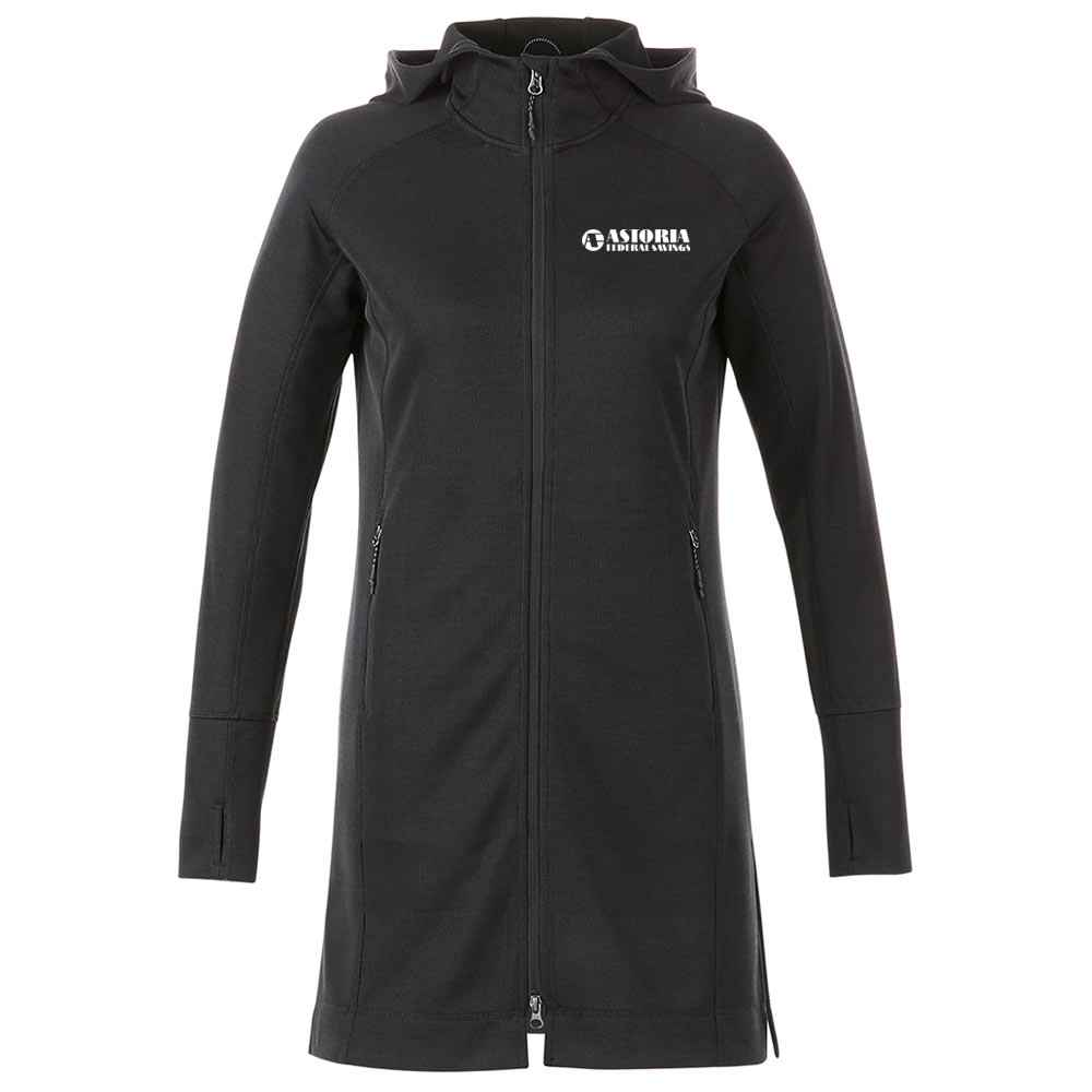 Elevate® Women's Odell Knit Zip Hoody - Embroidery Personalization Available