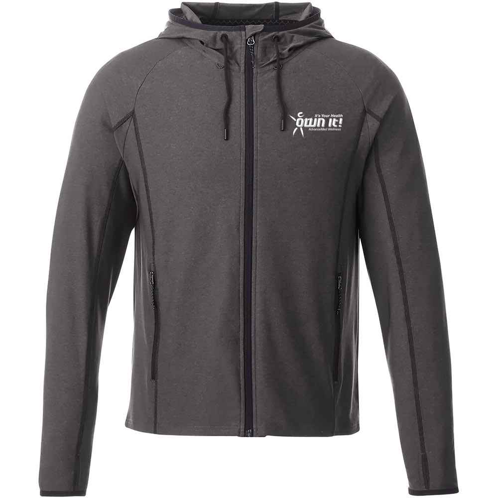 Elevate® Men's Kaiser Knit Jacket - Embroidery Personalization Available