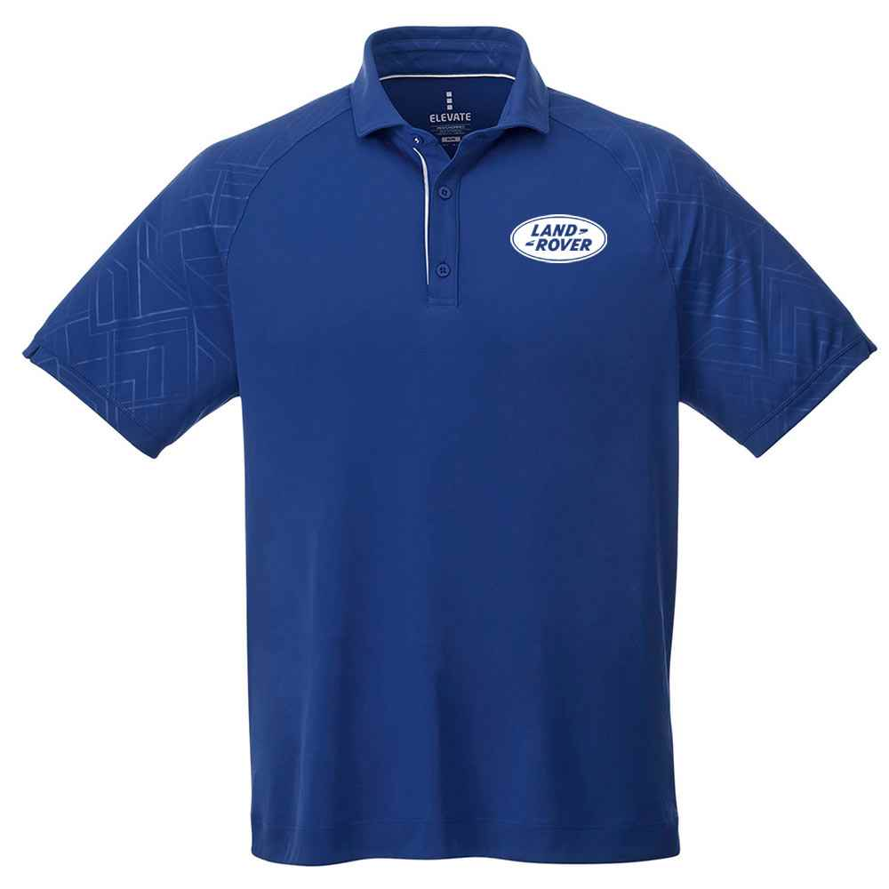 Elevate® Men's Hakone Short Sleeve Polo Shirt - Embroidery Personalization Available
