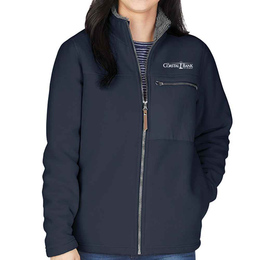 Charles River® Women's Jamestown Fleece Jacket - Personalization Available